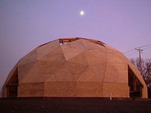 Sheathed Dome at Twilight